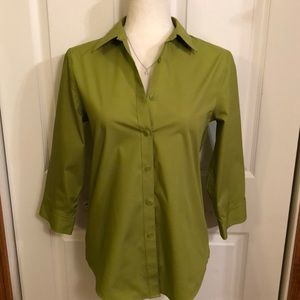 Jones New York Signature 3/4 Sleeve Blouse